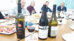 近隣の皆さんとのワイン会-ティシュビとビンヤミナのワインを持ち込む